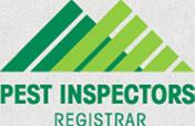 Pest inspectors registrar